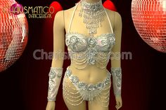 Charismatico Dancewear Store - CHARISMATICO Showgirl Style Silver Bikini Top with Embellishments and Matching Thong, $99.00 (http://www.charismatico-dancewear.com/products/CHARISMATICO-Showgirl-Style-Silver-Bikini-Top-with-Embellishments-and-Matching-Thong.html)