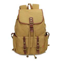 AUGUR Retro Fashion Travel #Backpack