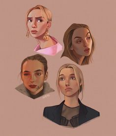 Character Creator, Character Design, American Horror Story, Twenty One Pilots, Harley Quinn, Jodie Comer, Game Concept Art, Facial Expressions, Cartoon Wallpaper