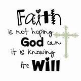 What does it mean to have faith? How do you obtain it? Where does it ...