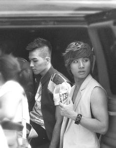 Taeyang, Daesung looks adorable..