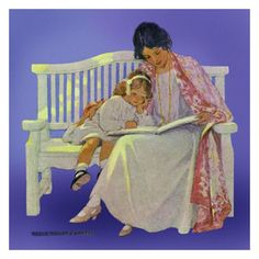 Jessie Willcox Smith Greeting Cards : Mother and Daughter