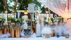 The Midas Theme Cocktail Party - The A-Cube Project Pictures Best Wedding Planner, Budget Wedding, Plan Your Wedding, Wedding Blog, Event Planning Tips, Event Planning Business, Wedding Planning, Entrance Decor, Outdoor Events