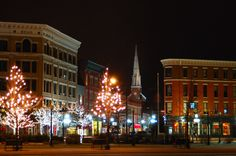 Downtown Rutland Vermont - our new little town (we're in Mendon, but there's no town here :)
