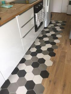 Realisation cuisine hexagonal uni 15x18