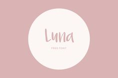Luna is a quirky handwritten font that represents the feeling of feminine, joy, and casual. This free font has a …