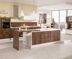 Kuchyně Vita dub antik a bílá Diy Kitchen Storage, What To Cook, Kitchen Island, Cooking, Classic, House, Home Decor, Google, Belle