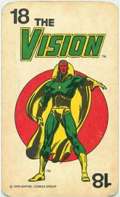 Marvel Super-Heroes Card Game 1978 - #18