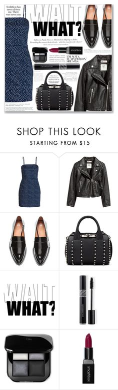 """""""CALIFORNIA"""" by brenndha ❤ liked on Polyvore featuring H&M, Alexander Wang, Christian Dior and Smashbox"""