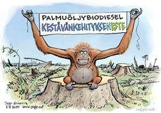 Nesteen palmuöljybiodiesel kestävän kehityksen tiellä