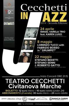 #Jazz a @civitanovam!..dal 24aprile l'arte dell'#improvvisazione sul palco dei #TeatriDICivitanova http://www.tdic.it/la-rassegna-cecchetti-in-jazz-con-grandi-nomi/