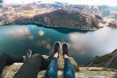 Preikestolen, Norway, if Trolltunga is too hard