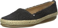 Aerosoles Women's Solitaire Slip-On Loafer, Black Two Tone, 10 M US -- Continue to the product at the image link. (This is an affiliate link) #WomensLoafersSlipOns