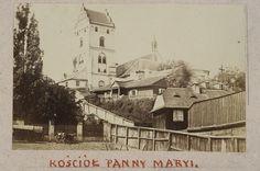 Kościół Panny Maryi, 1862, fot. Karol Beyer, źródło: Biblioteka Narodowa