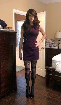 Your inner woman: beautiful crossdressers: Nice figure Feminized Husband, Female Transformation, Transgender Girls, In Pantyhose, T 4, Crossdressers, Sexy Dresses, Party Dresses, Dress Up