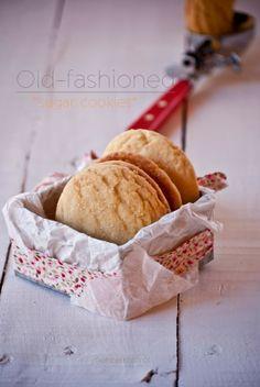 Martha Stewart's Old Fashioned Sugar Cookies #recipe