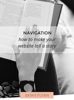 How to make your website or blog navigation easy for visitors to follow.