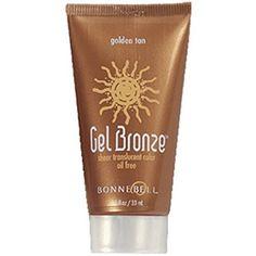 Bonne Bell, Gel Bronze, Golden Tan, Face Gel, 1.1 Fl Ounce (416).