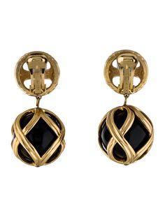 Woven Drop Earrings