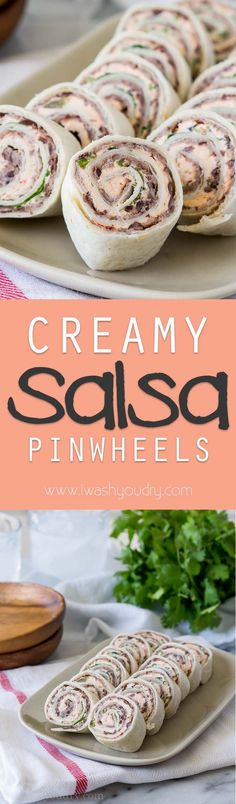 awesome Creamy Salsa Pinwheels