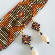Bead Patterns, Napkin Rings, Napkins, Beads, Home Decor, Weaving, Beading, Decoration Home, Towels