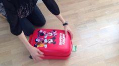 Minnie & Mickey Mouse ABS trolley kuffert til børn - Gratis fragt