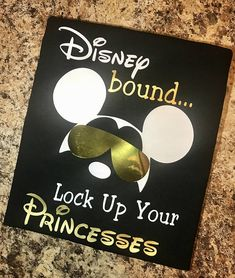 Mickey Inspired T-Shirt - Mouse - Disney Bound - Lock up your Princesses