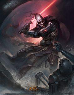 A Sith Lord  Created by Yigit Koroglu