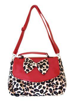 Cutest leapard purse