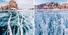 22 Μαγικές Φωτογραφίες από την Παγωμένη Βαϊκάλη, την Παλαιότερη και πιο Βαθιά Λίμνη πάνω στη Γη. Βγαλμένη από Παραμύθι!
