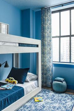 Blue bedroom isnpirations | Circu Magical Furniture upgrades any kids room design, and the best part is that it has several options in blue! Click to our amazing pieces: CIRCU.NET