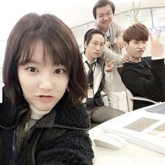 Lee YuBi instagram update - YGN crew - Pinocchio