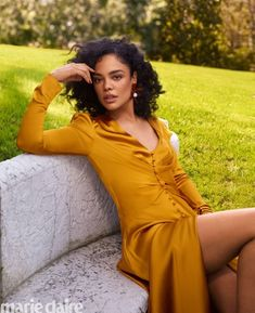Tessa Thompson Poses in Elegant Looks for Marie Claire Tessa Thompson, Girl Crushes, Beautiful Black Women, Beautiful People, Divas, Coloured Girls, Models, Woman Crush, Black Girl Magic