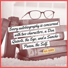 Quotable – W.H. Auden | Writers Write