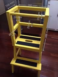 Ikea Hack Diy Learning Tower Using The Inexpensive