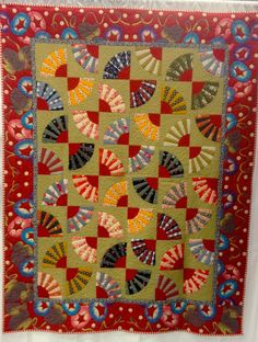 The annual Quilters Anonymous show was in Western Washington this weekend.  Among some 500 quilts by QA members, the Rebels group sho...