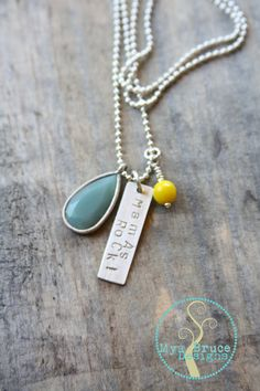 Mamas Rock necklace by MyaBruceDesigns on Etsy, $32.00