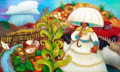 Linda Carter Holman Paintings: Cloud Burst