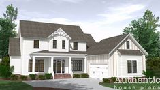 Woodside | Authentic House Plans