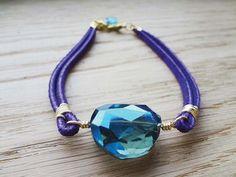 Crystal Lacing Bracelet