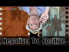 ▶ Convert Film Negatives To Positive - Tutorial - YouTube