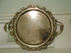 International Silver Company Tray 22 inches by tawnystreasures