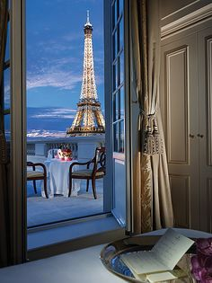 Half the rooms at the Shangri-La Paris have Eiffel Tower views, and nearly that many feature private terraces or balconies.