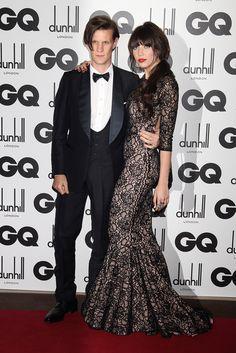 Matt Smith & Daisy Lowe at GQ Awards