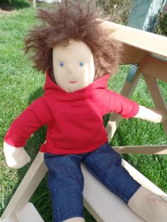 Waldorf Doll (boy) by LittleDollsBySzandra on Etsy