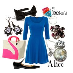 Alice, created by leslieakay on Polyvore