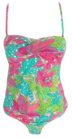 b20083f0bc Lilly Pulitzer Caye Tankini Top And Surfs Up Bottom In Skip On It. Preppy  Outlet · Swimwear   Coverups