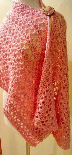 Victoria Lacy Shawl Crochet Pattern