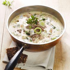 Romige preisoep met gorgonzola #WWrecept #najaar #WeightWatchers
