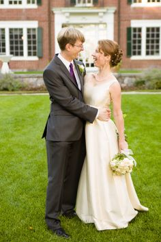 Talk with each other and make each other laugh during photos.  They make for much more natural smiles. Susanna and Paul's Joyful Wedding at the Bradley Estate » Fucci's Photos of Boston | Boston Wedding Photographer